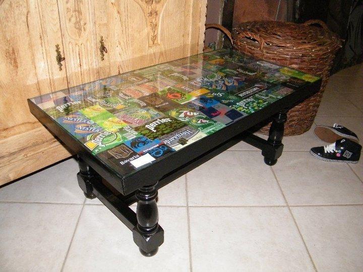 Aliceaupaysdescanettes les tables basses for Vitre pour table de cuisine