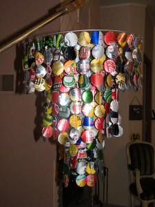 Le lustre canette dans Objets en canettes et capsules dscf3408-225x300